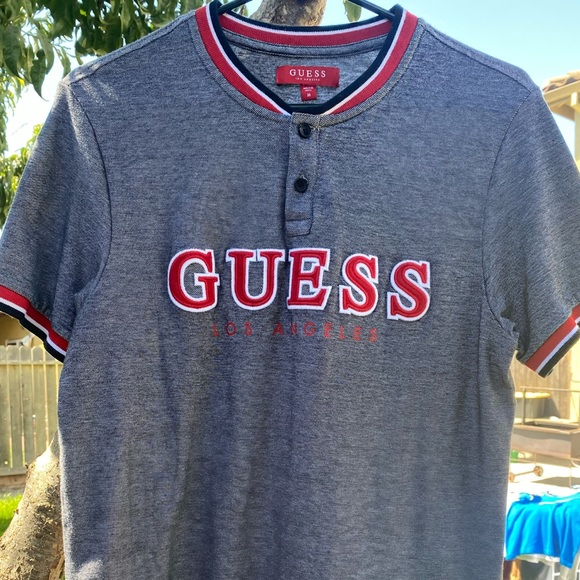Guess Baseball Shirt